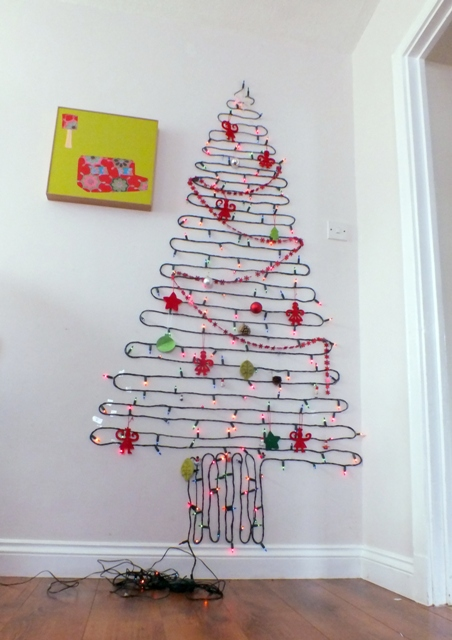 String Lights Wall Christmas Tree : 301 Moved Permanently